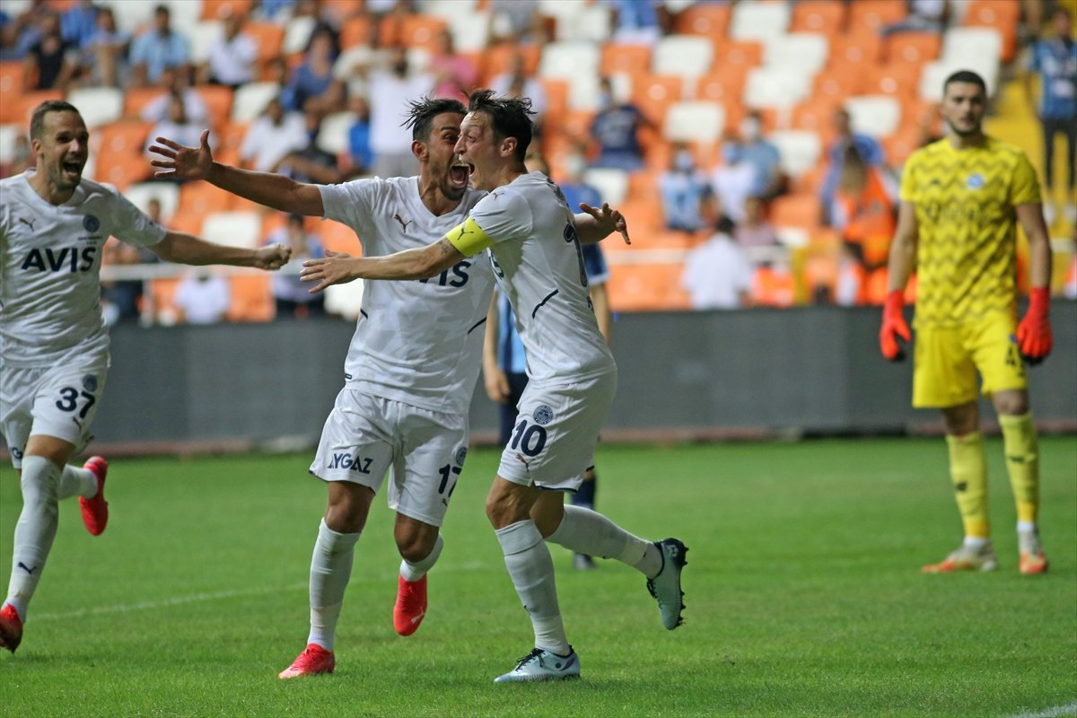 Fenerbahçe Adana Demirspor u tek golle geçti #7