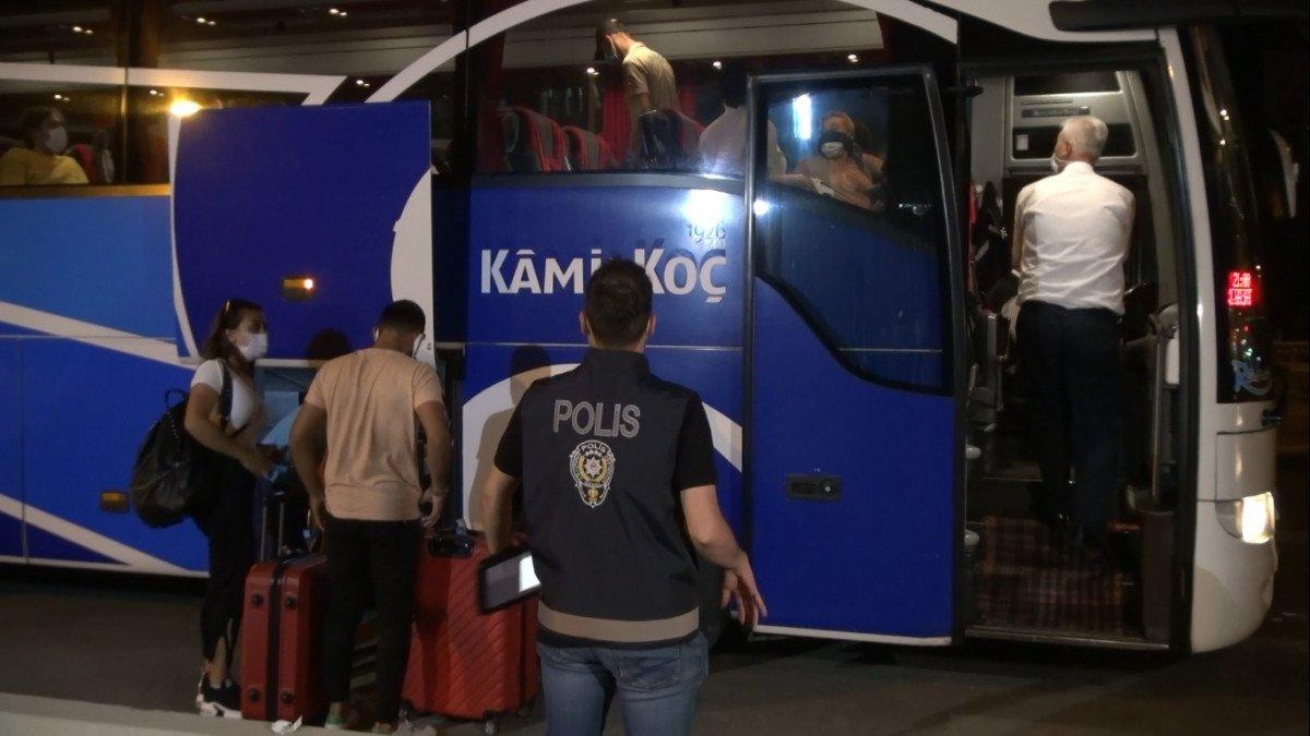 Kırıkkale de HES te riskli gruptaki yolcuya 4 bin TL ceza #3