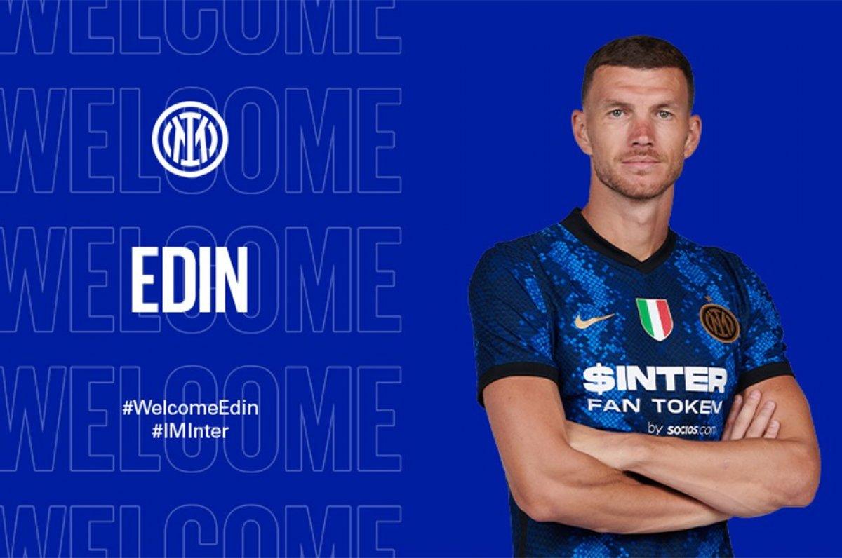 Dzeko resmen Inter de #1