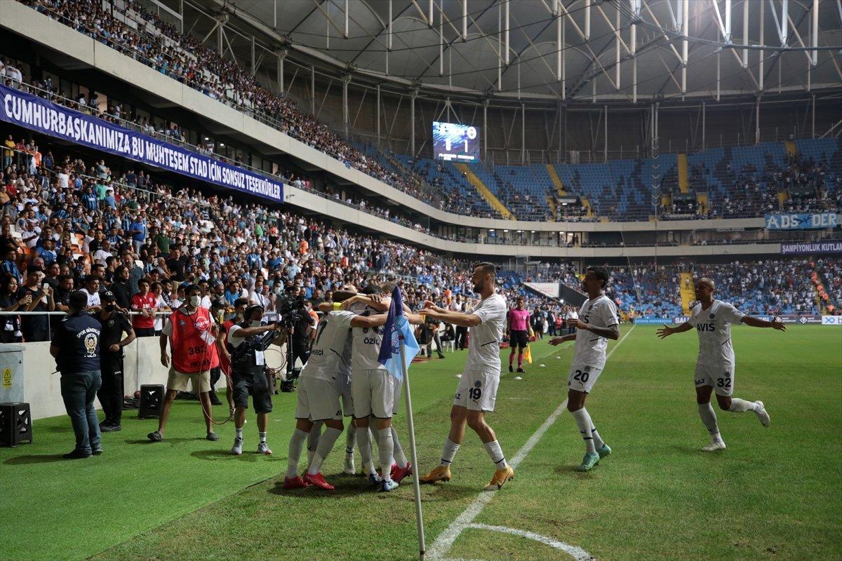 Fenerbahçe Adana Demirspor u tek golle geçti #5