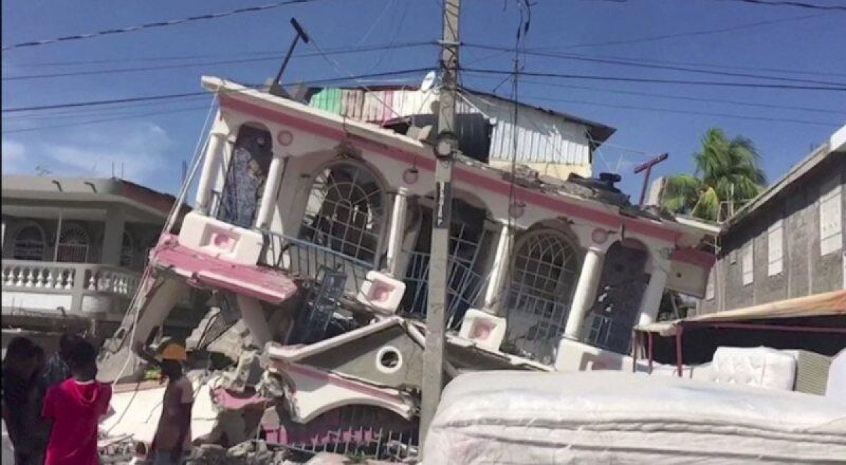 Haiti deki depremde yaşamını yitirenlerin sayısı 700 ü geçti #3