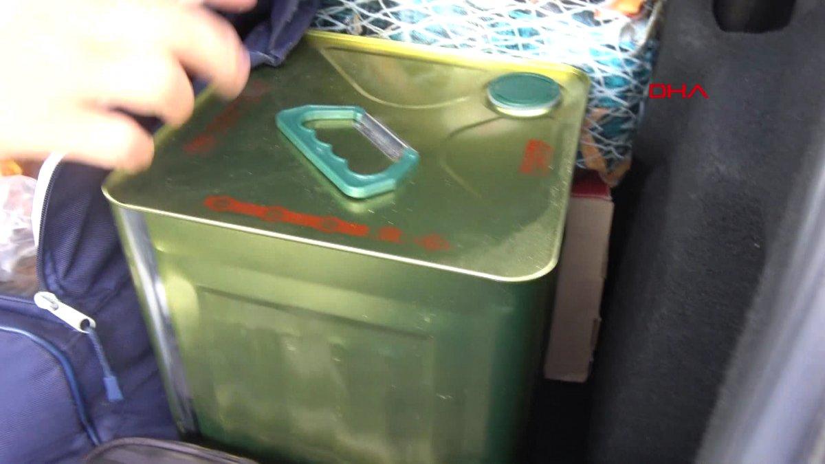Gurbetçiler dönüş yolunda bagajları doldurdu #12