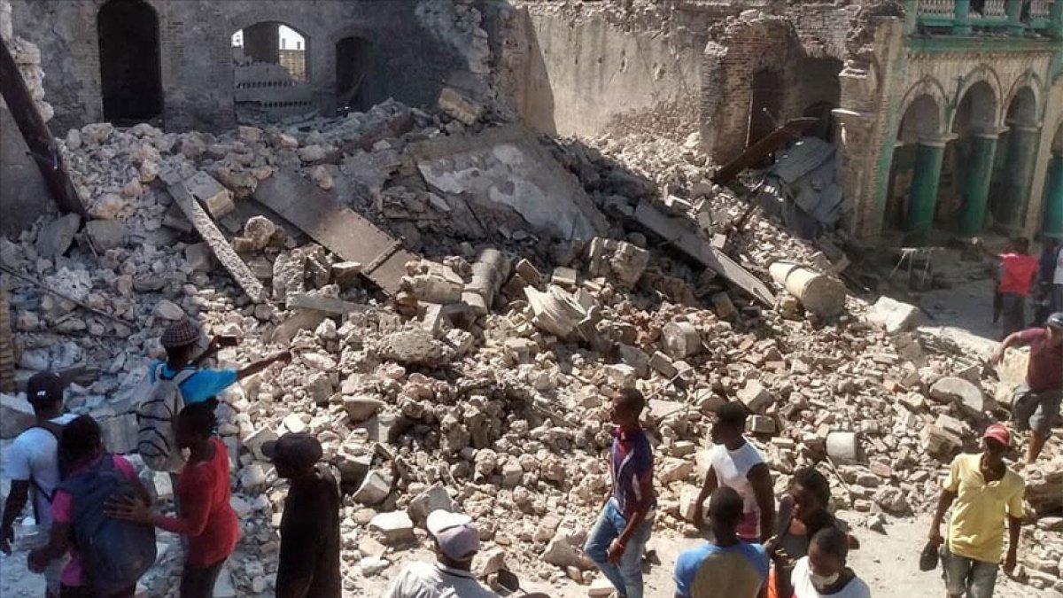 Haiti deki depremde yaşamını yitirenlerin sayısı 700 ü geçti #1