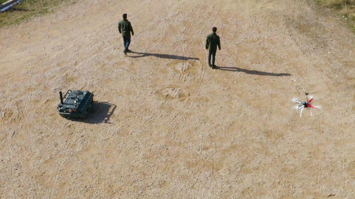 İnsansız araçlardan oluşan Türkiye nin dijital birliği IDEF te #4