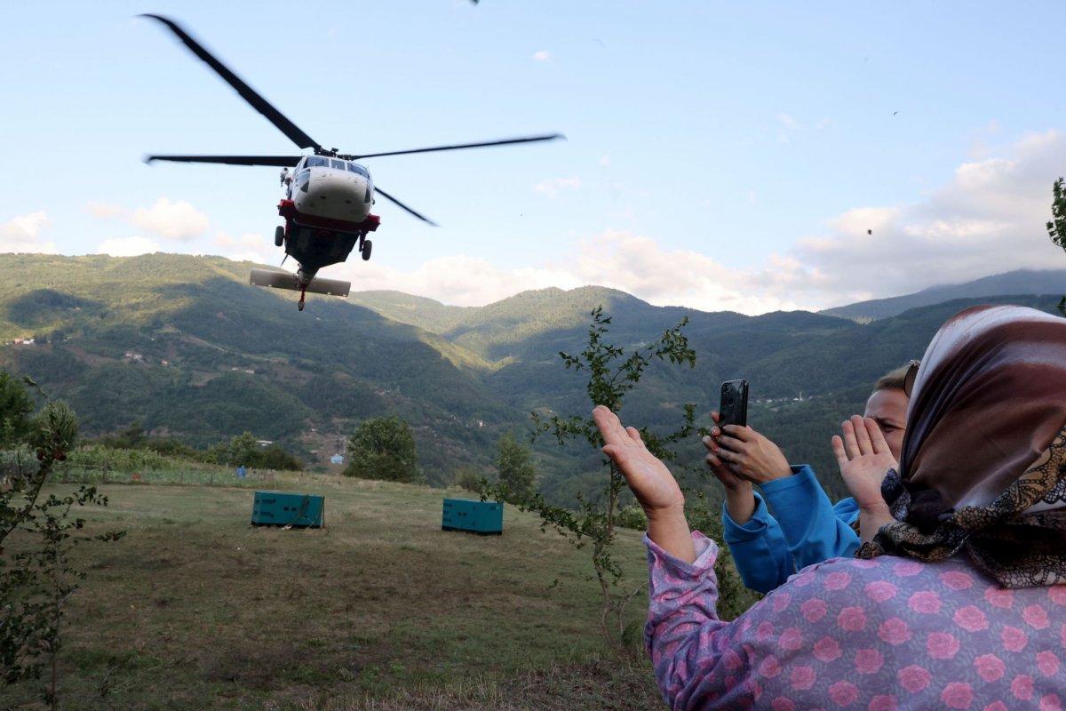 Selde elektriksiz kalan köyler, mobil jeneratörle aydınlanıyor #8