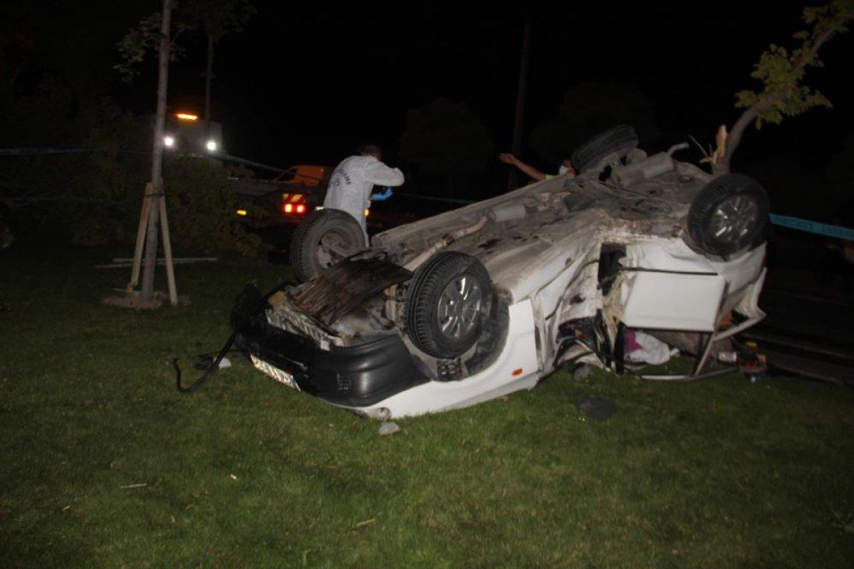 Konya da trafik kazası: 1 ölü, 2 yaralı #1