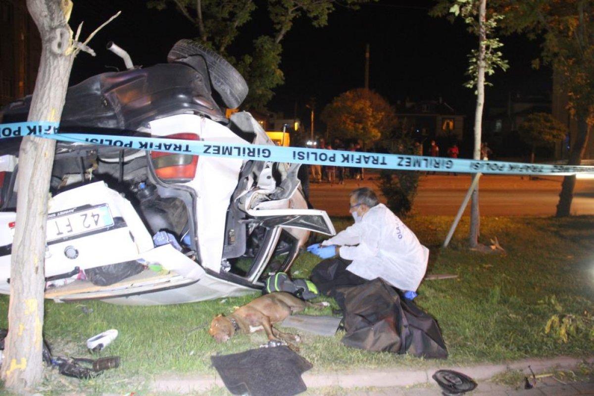Konya da trafik kazası: 1 ölü, 2 yaralı #3