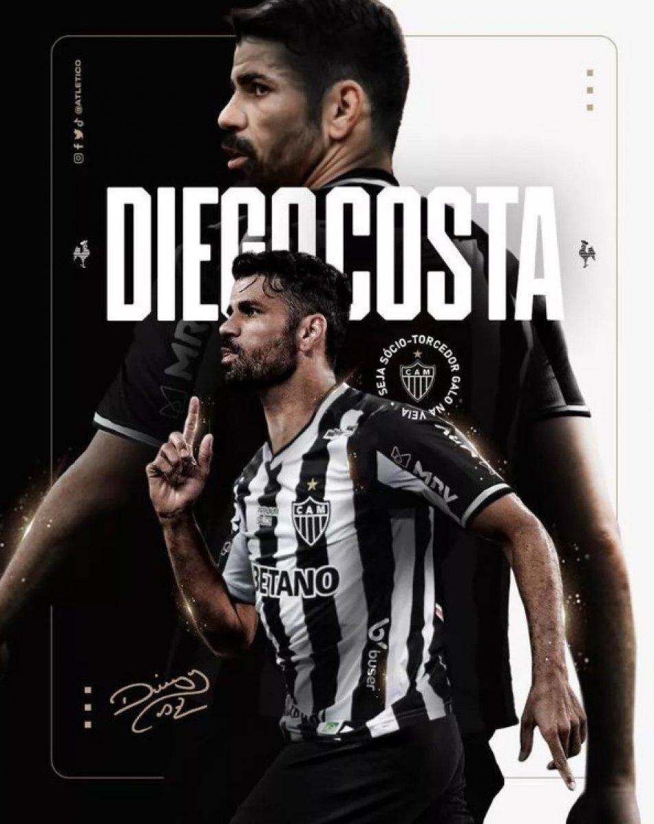 Diego Costa, Atletico Mineiro ya transfer oldu #2