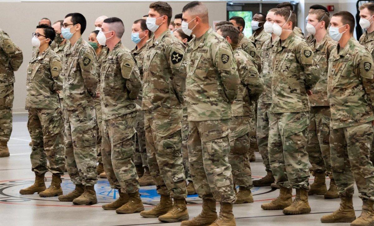 ABD de koronavirüs vakaları nedeniyle ordu göreve çağrıldı #1