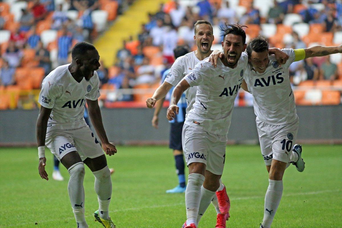 Fenerbahçe Adana Demirspor u tek golle geçti #6
