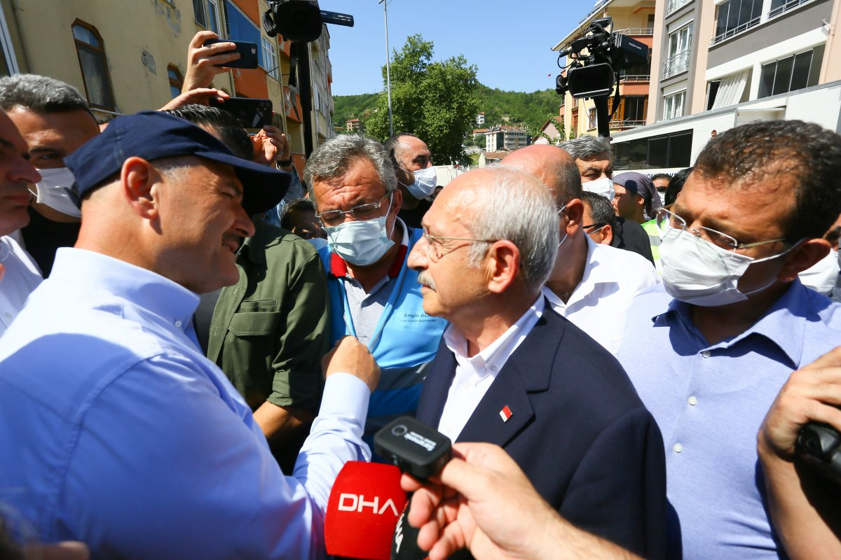 Kemal Kılıçdaroğlu, Süleyman Soylu'dan bilgi aldı  #1