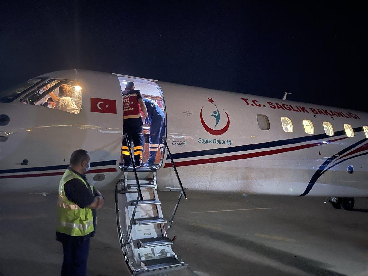 Lübnan daki 4 yaralı Türkiye ye getirildi #3