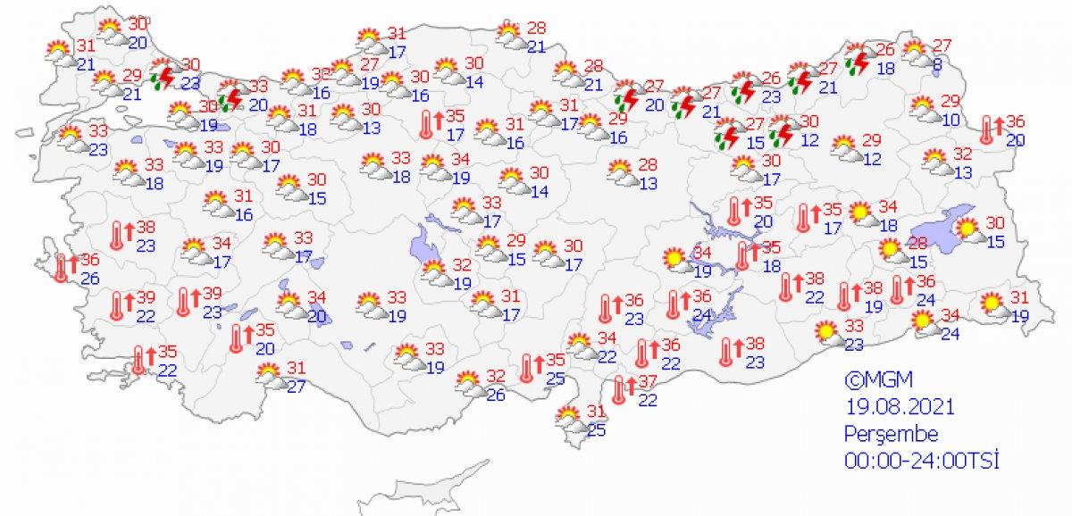 Karadeniz için kuvvetli sağanak uyarısı #6