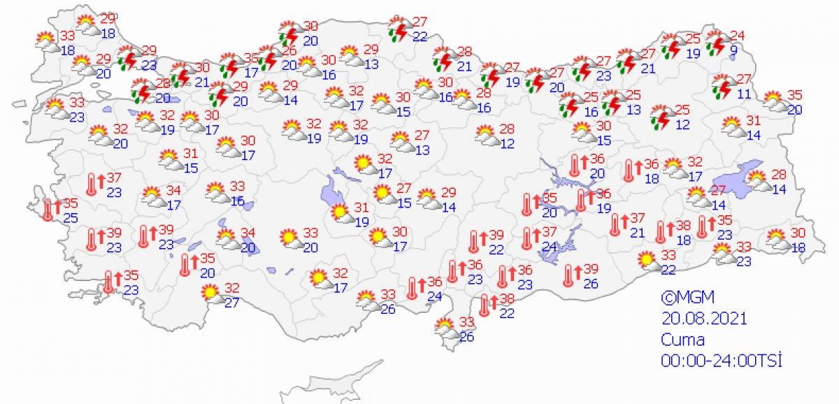 Karadeniz için kuvvetli sağanak uyarısı #7