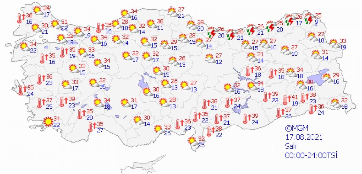 Karadeniz için kuvvetli sağanak uyarısı #4