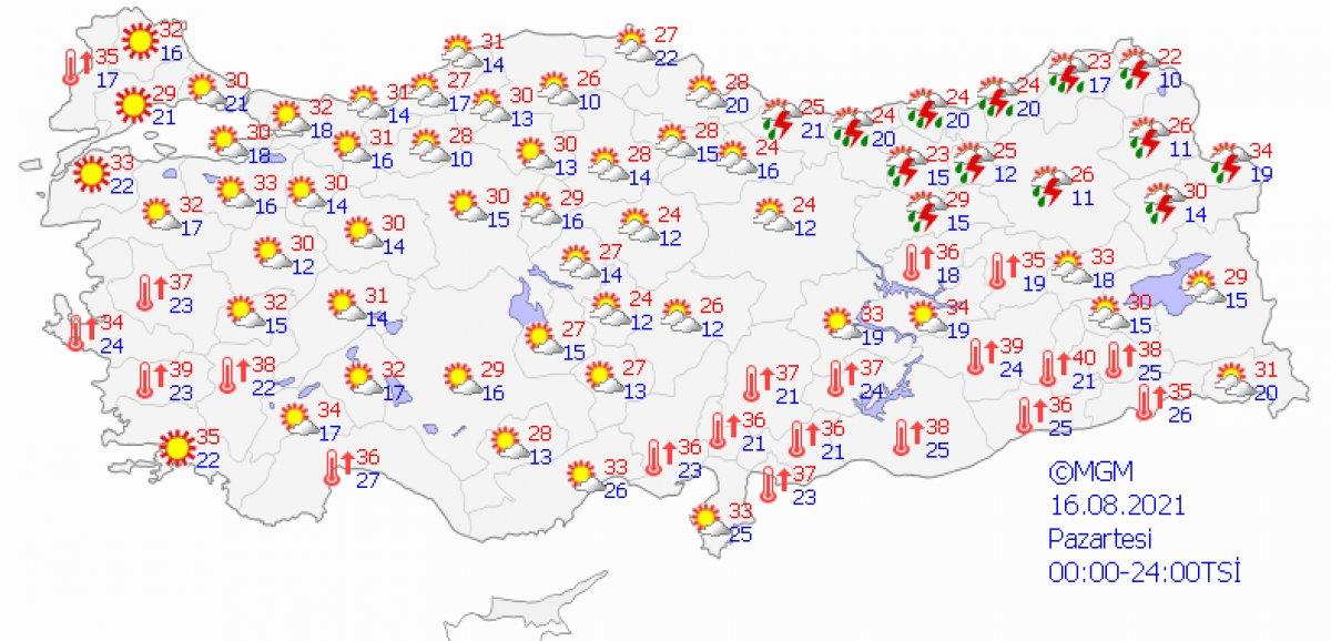 Karadeniz için kuvvetli sağanak uyarısı #3