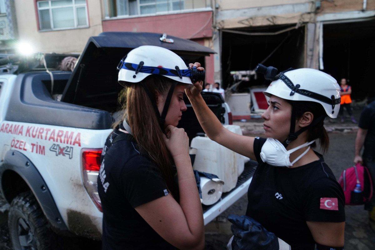 Kastamonu da arama kurtarmaya kadın desteği #3