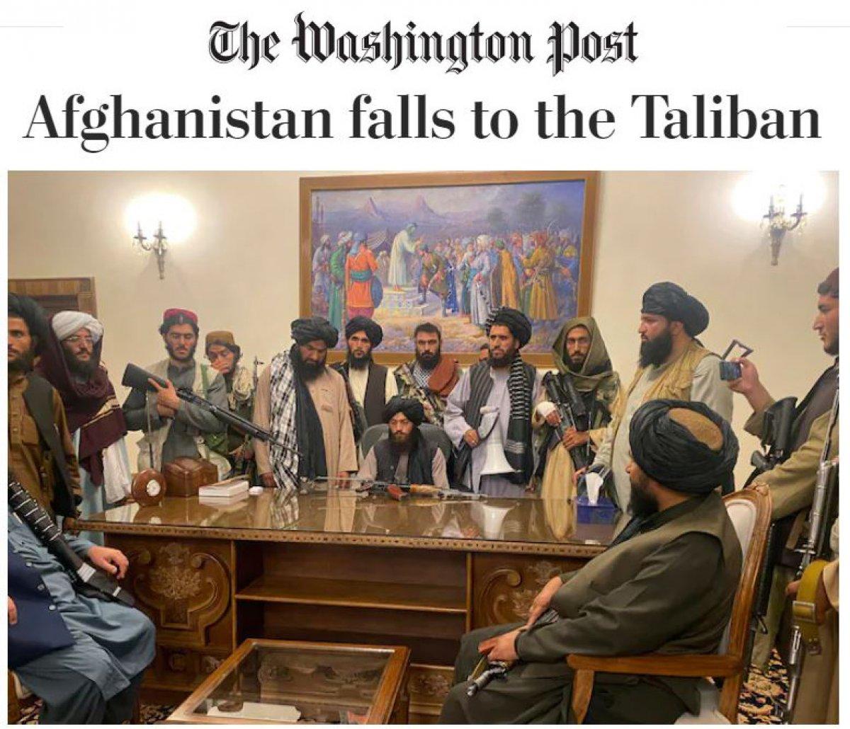 ABD basınında Taliban manşetleri #2