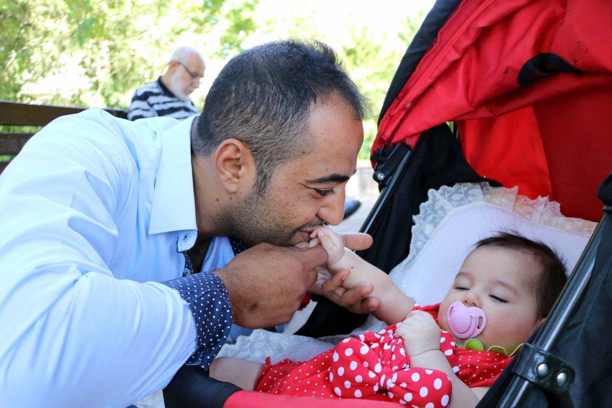 Gaziantep te iki kalbi olan Murat, baba olmak için 9 yıl bekledi #1