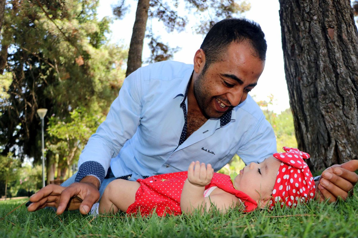 Gaziantep te iki kalbi olan Murat, baba olmak için 9 yıl bekledi #2