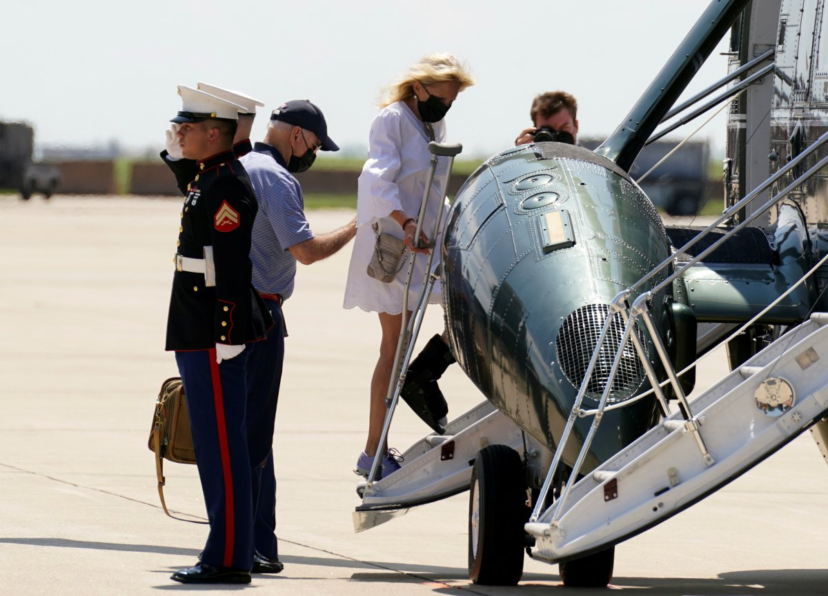Cumhuriyetçilerin Joe Biden tatilde iddiası #5