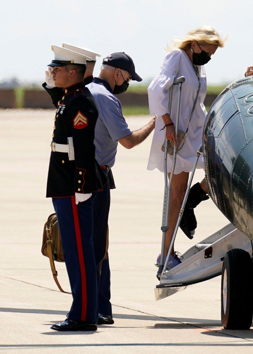 Cumhuriyetçilerin Joe Biden tatilde iddiası #6