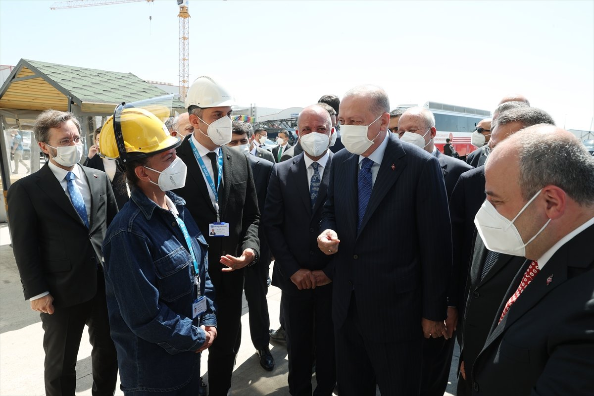 Cumhurbaşkanı Erdoğan, 26 yeni fabrikanın açılışına katıldı  #1