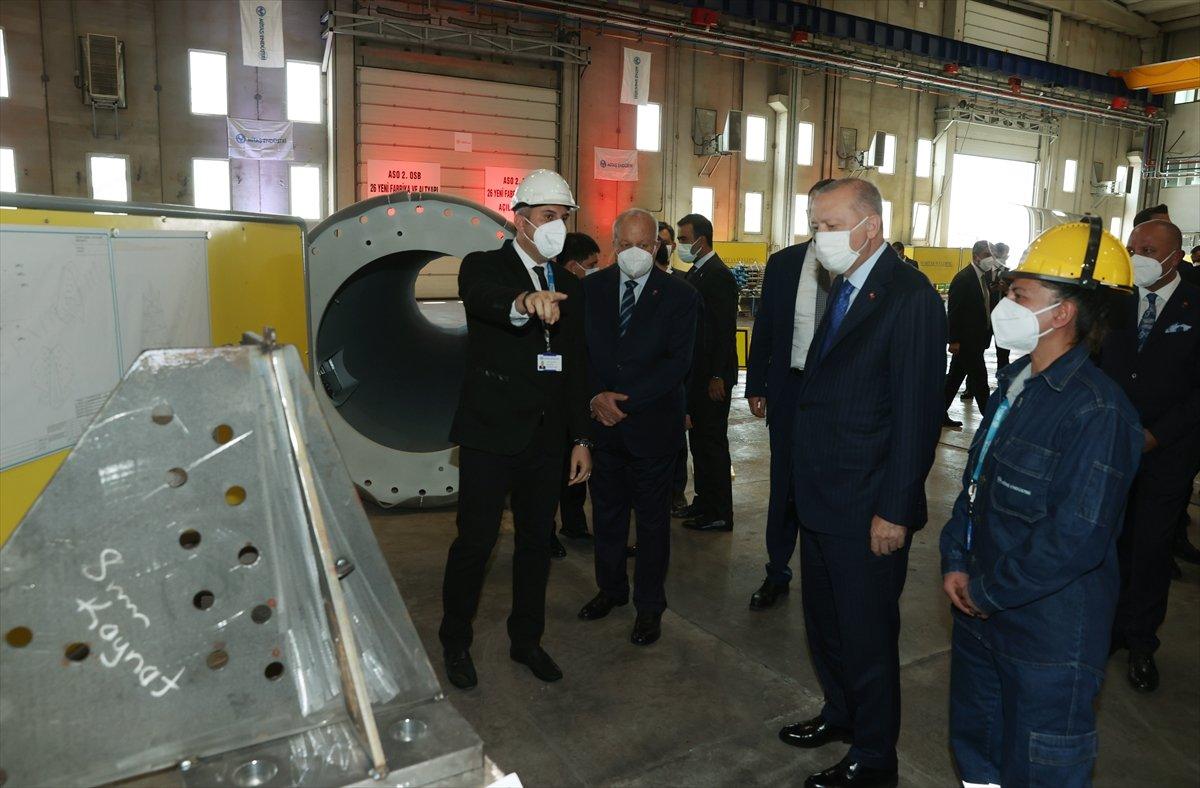 Cumhurbaşkanı Erdoğan, 26 yeni fabrikanın açılışına katıldı  #4