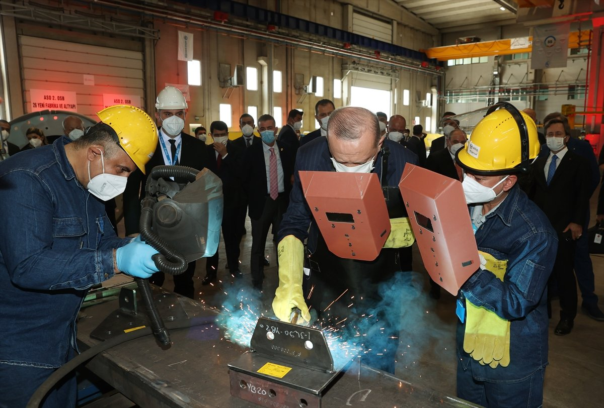 Cumhurbaşkanı Erdoğan, 26 yeni fabrikanın açılışına katıldı  #5