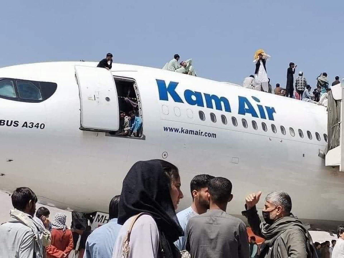 Pentagon: Kabil Havalimanı nda tüm uçuşlar durduruldu #3