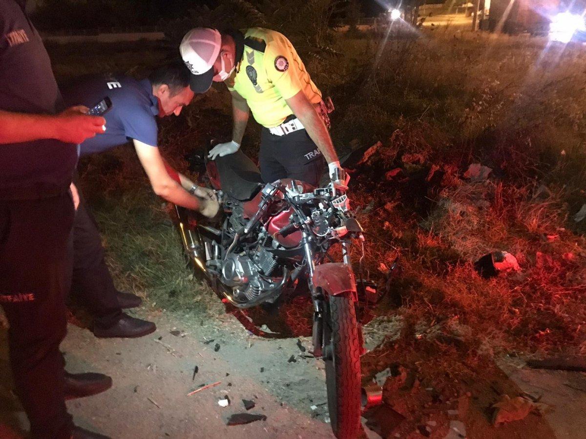 Edirne'de 17 yaşındaki motosiklet sürücüsü kazada öldü #2