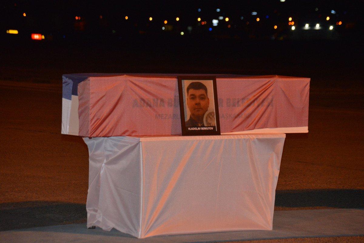 Rus mürettebatın cenazeleri, törenle ülkelerine gönderildi #4
