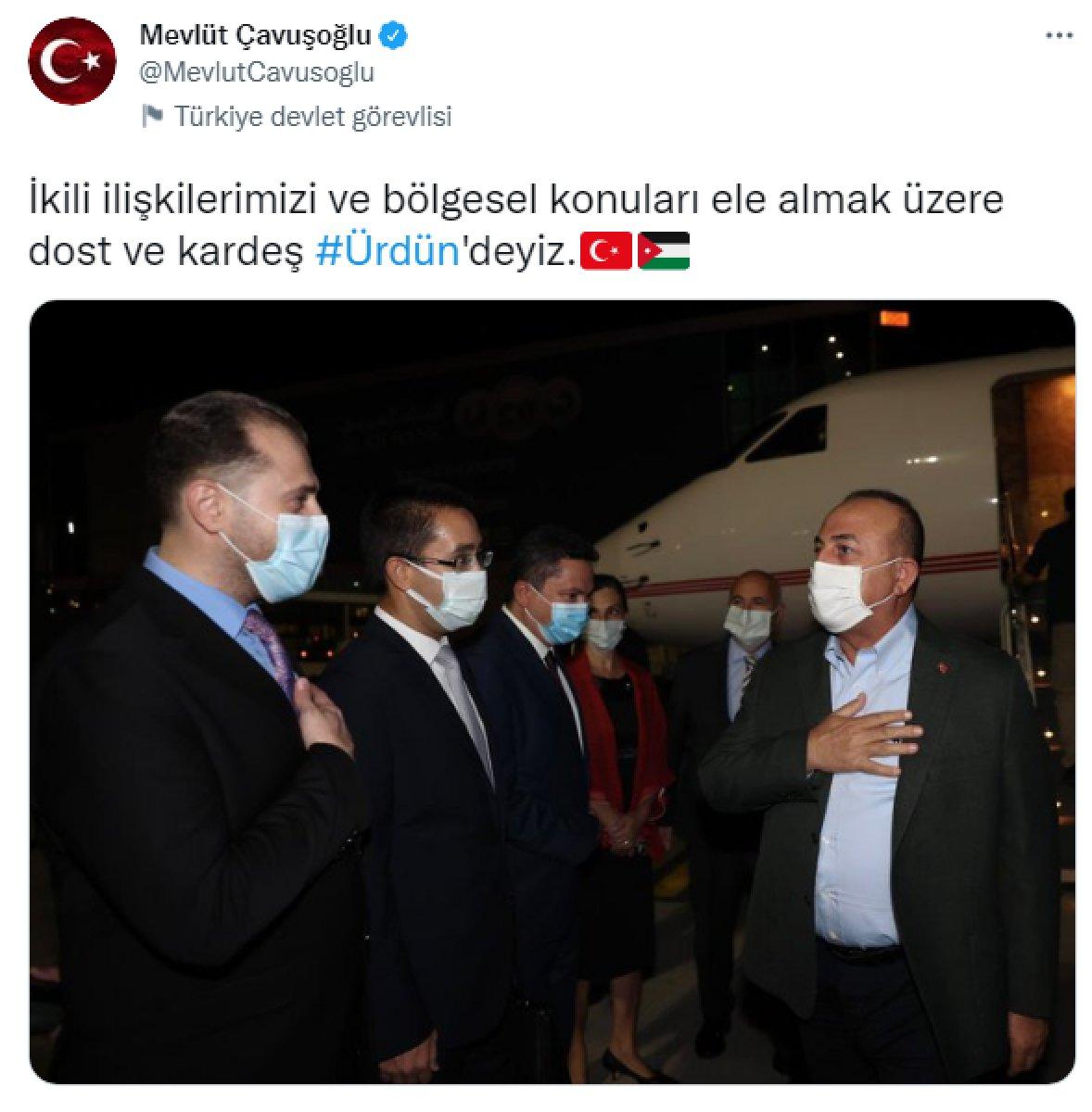 Dışişleri Bakanı Mevlüt Çavuşoğlu Ürdün de #1