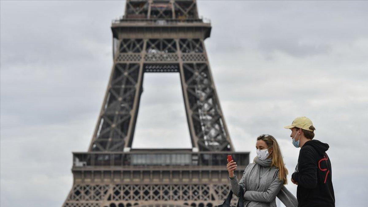 Fransa da son 24 saatte 28 bin 114 yeni vaka #1