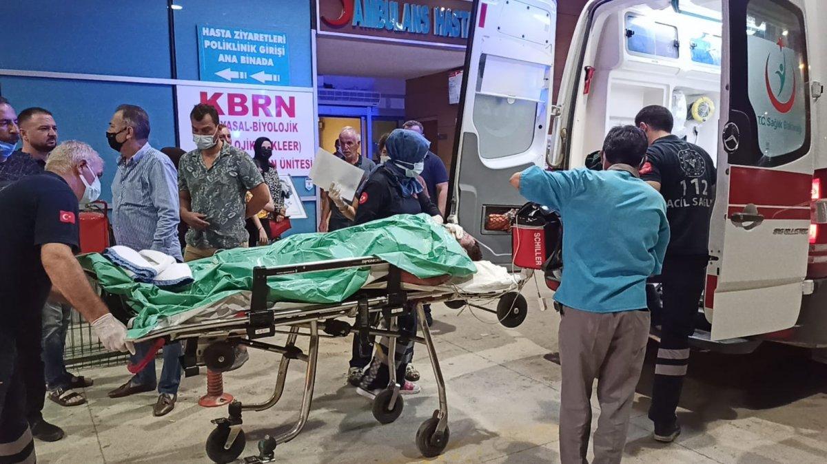 Bursa da bir kişi ağızında sigarayla uyuyunca vücudu yandı #1