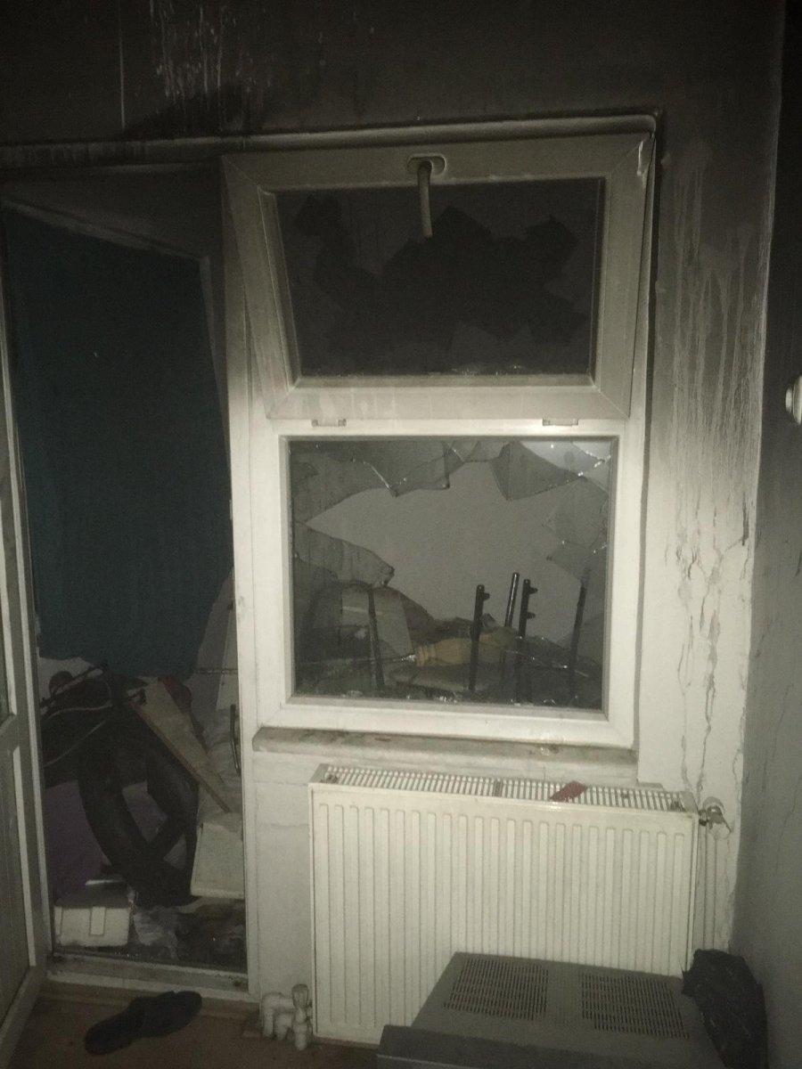 Bursa da bir kişi ağızında sigarayla uyuyunca vücudu yandı #3