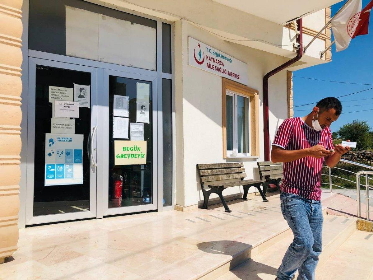 Sakarya'da aile hekimleri iş bıraktı  #3