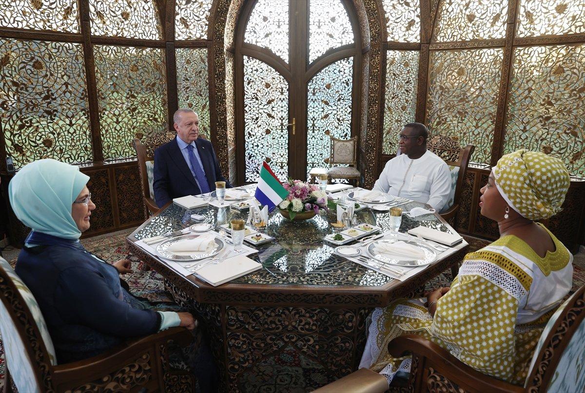 Cumhurbaşkanı Erdoğan, Sierra Leone Cumhurbaşkanı ile görüştü #4