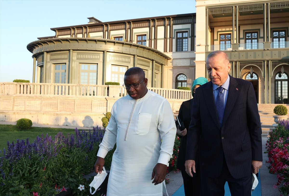 Cumhurbaşkanı Erdoğan, Sierra Leone Cumhurbaşkanı ile görüştü #3