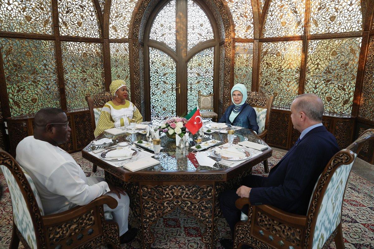 Cumhurbaşkanı Erdoğan, Sierra Leone Cumhurbaşkanı ile görüştü #5
