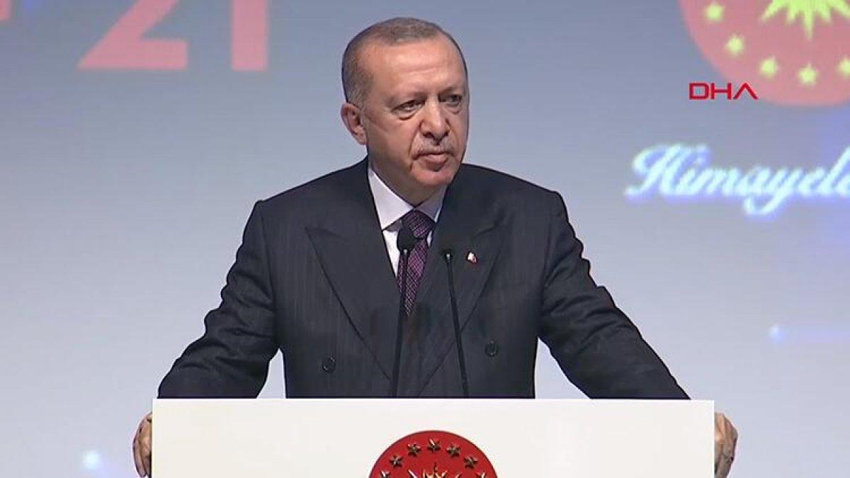 Cumhurbaşkanı Erdoğan, Uluslararası Savunma Sanayii Fuarı Açılış Töreninde konuştu  #1
