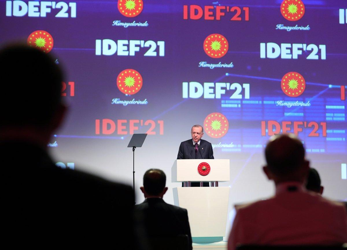 Cumhurbaşkanı Erdoğan, Türkiye nin savunma sanayisindeki felsefesini açıkladı  #2