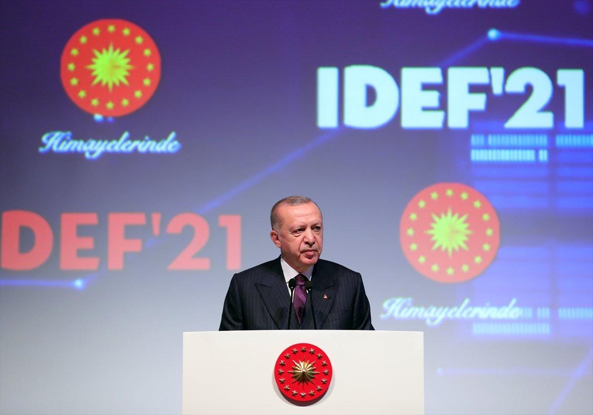 Cumhurbaşkanı Erdoğan, Türkiye nin savunma sanayisindeki felsefesini açıkladı  #1