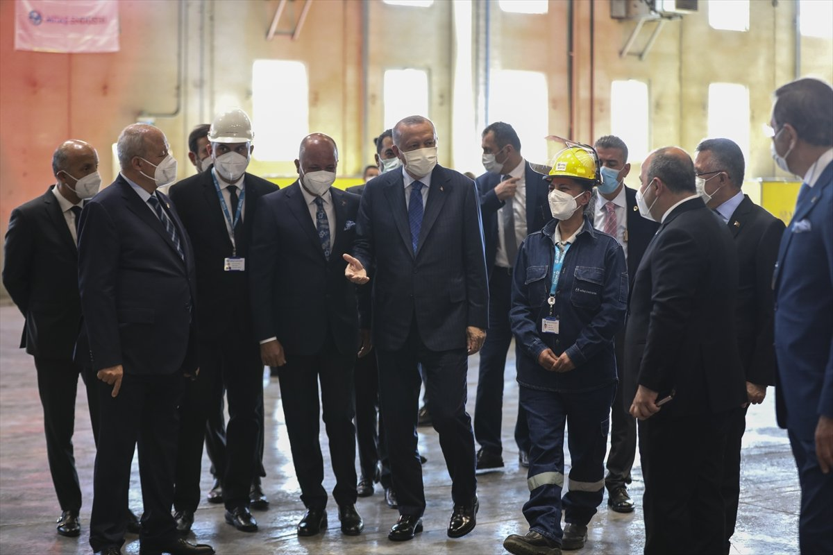 Kaynak ustası Melek, Cumhurbaşkanı Erdoğan ile kaynak yaptı #2
