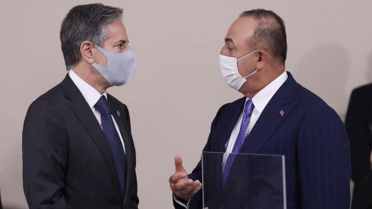 Mevlüt Çavuşoğlu, ABD li mevkidaşıyla Afganistan ı konuştu #1