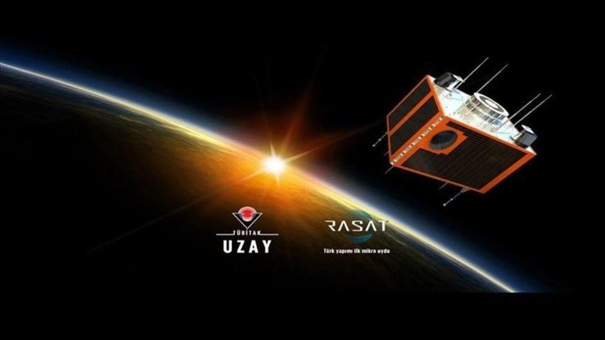 İlk milli gözlem uydusu RASAT, yörüngede 10uncu yılını tamamladı