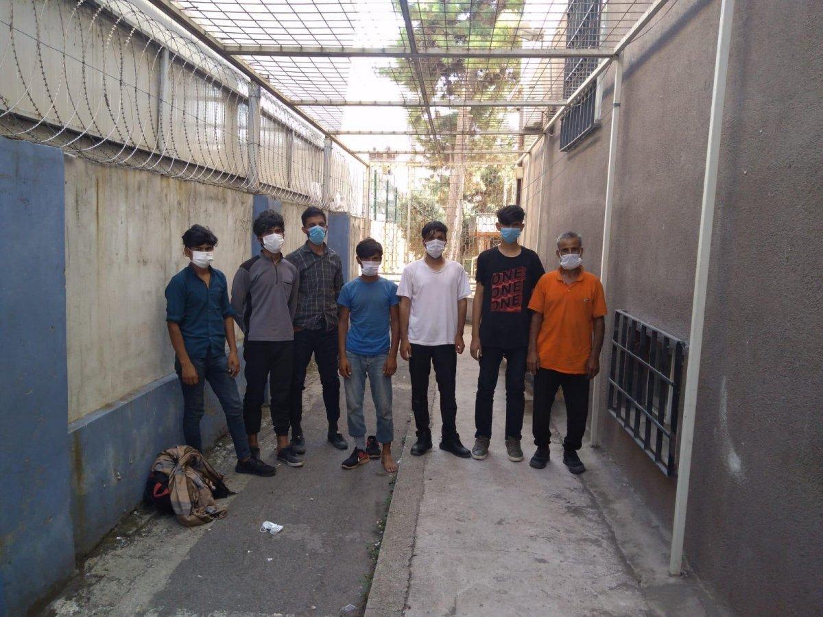 TEM de 7 düzensiz göçmen yakalandı #1