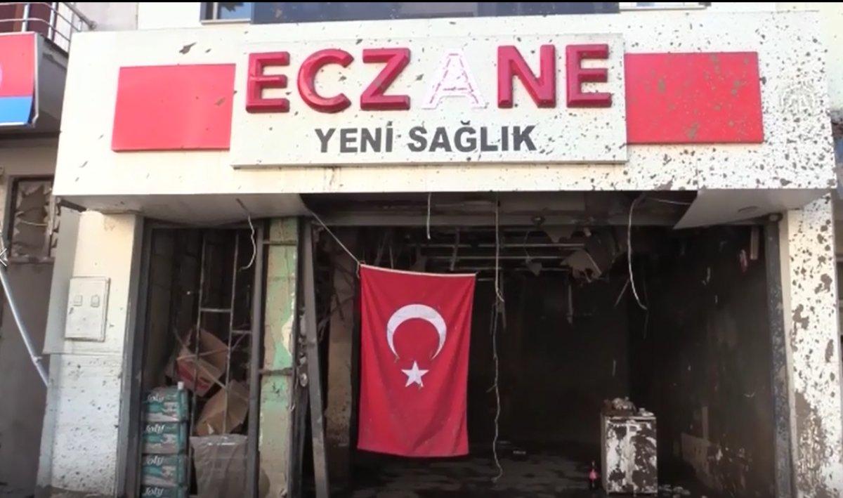 Bozkurt ta selin vurduğu esnaf Türk bayrağından güç alıyor #2