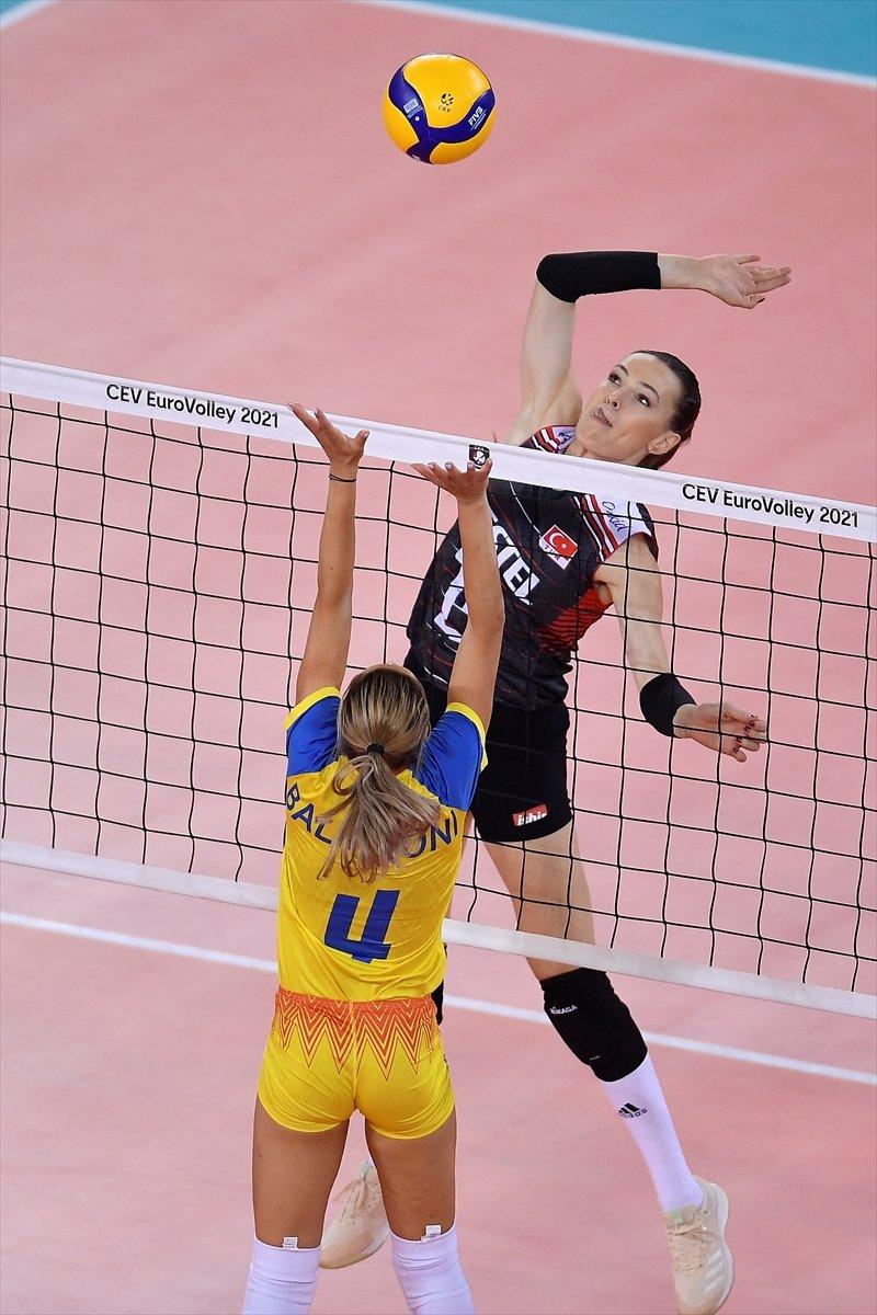 Türkiye Kadın Voleybol Milli Takımı, Avrupa Şampiyonası nda Romanya yı yendi #3