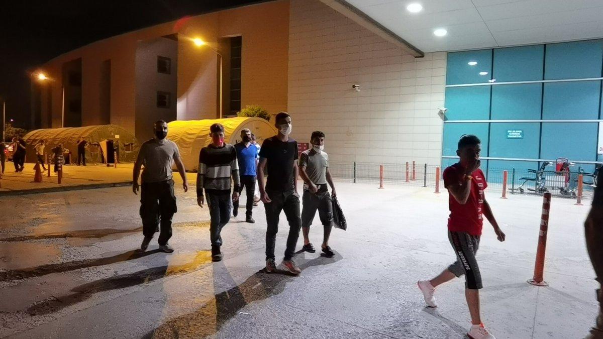 Bursa da 5 kaçak göçmen yakalandı #3